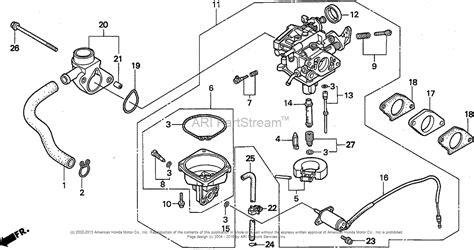 Honda 2000i Parts Diagram