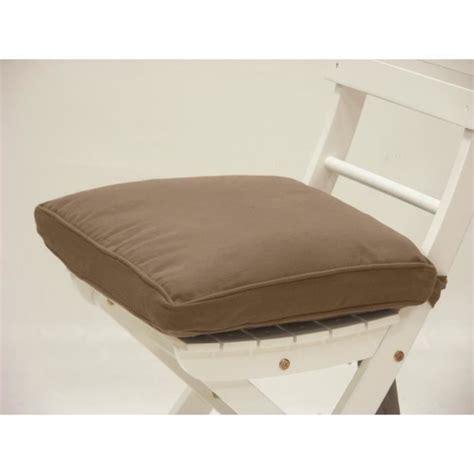 galette de chaise 50x50 galette de chaise 21 java taupe achat vente coussin de