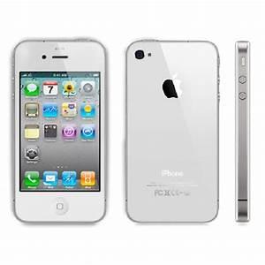 Apple iPhone 4S 64GB Bluetooth WiFi White Phone Sprint ...
