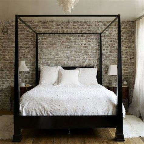 black canopy bed transitional bedroom