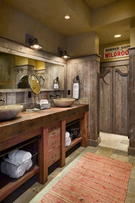 rustic bathroom designs   modern home adorable home