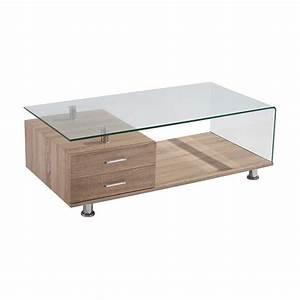 Vine 120x60cm 12mm Tempered Glass Coffee Table • Decofurn