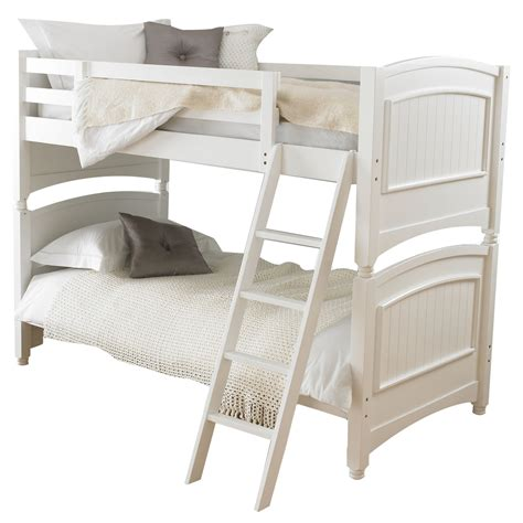 bunk beds colonial white bunk bed frame day select day delivery