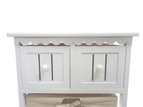 ebay kitchen cabinet assemble white country chest of drawer hallway 3510