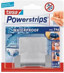 Tesa Bilder Aufhängen : tesa 59710 tesa powerstrips waterproof duohaken metall bei reichelt elektronik ~ Orissabook.com Haus und Dekorationen
