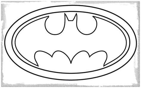 Batman Logo Coloring Page - Eskayalitim