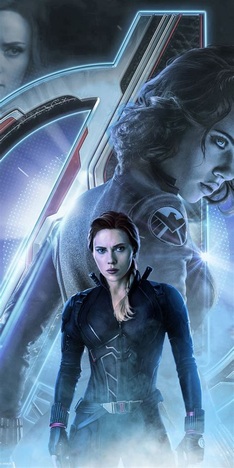 avengers endgame black widow  poster