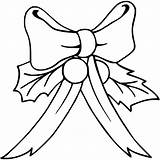 Bow Coloring Bows Printable Getcolorings Getdrawings sketch template