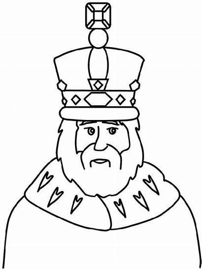King Coloring Pages Queen Midas David Getcoloringpages