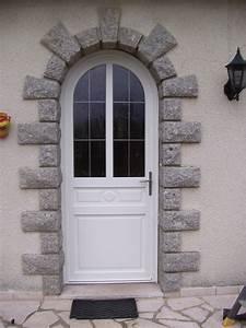 porte d39entree isolation service menuiserie pose de With porte d entrée plein cintre