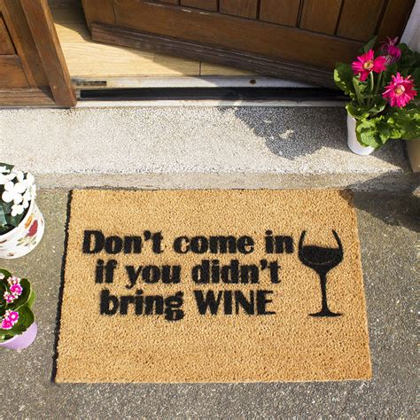Wine Doormats by Buy Artsy Doormats Without Wine Door Mat Amara