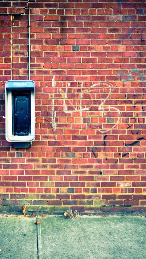 Over 40,000+ cool wallpapers to choose from. Lomo Bricks Wall Texture background. iPhone Wallpapers ...