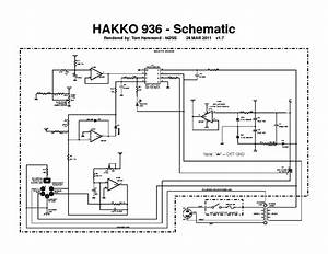 Hakko 850b Schematic Service Manual Free Download