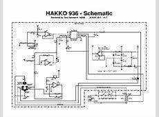 HAKKO 850B SCHEMATIC Service Manual download, schematics