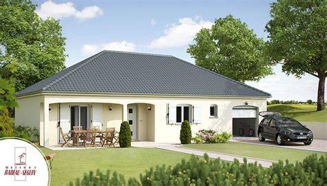 plan maison plain pied 3 chambres 100m2 ménilière modèle maison plain pied