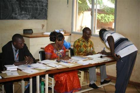 chambre consulaires burkina résultats provisoires des 3èmes élections