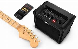 Irig Micro Amp Portable Guitar Amplifier Supports Iphone And Ipad