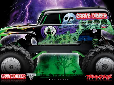 drawn truck grave digger monster truck grave digger rc