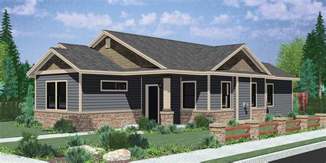 single house plans with wrap around porch single level house plans for simple living homes