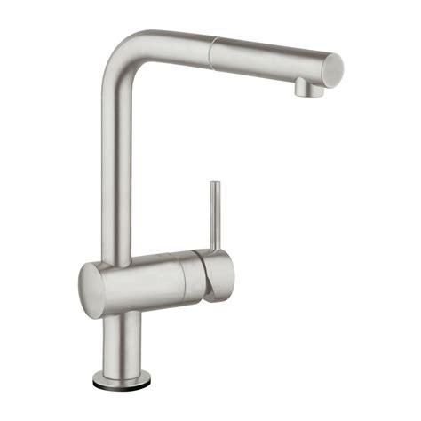 kitchen touch faucet grohe minta touch single handle pull sprayer kitchen