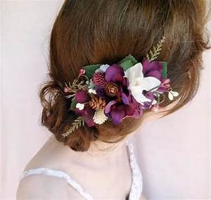 Fall Hair Accessories Rustic Bridal Hairpiece 2225567
