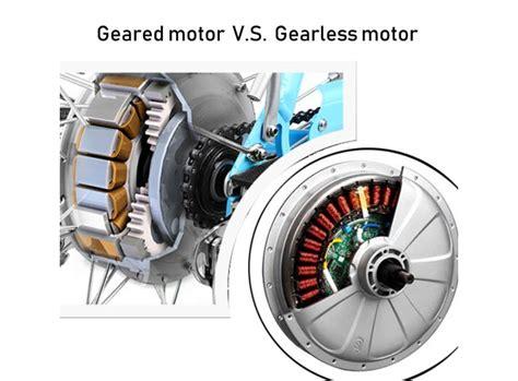 Electric-bike-geared-hub-motors-vs-gearless-hub-motors