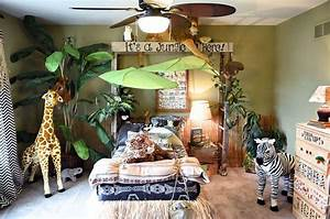 Jungle themed bedroom the roof acrylics and jungles