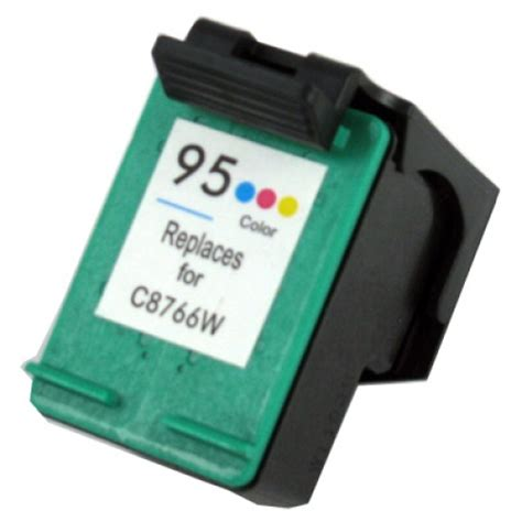 hp 95 color cartridge refurbished hp 95 tri color ink cartridge c8766wn