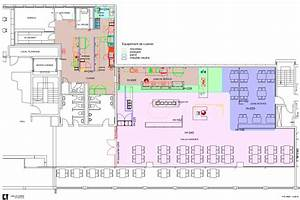 plan cuisine restaurant normes conception de cuisines With plan cuisine professionnelle normes