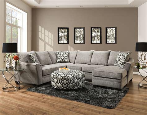dante concrete sectional american furniture