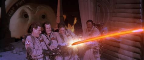 Egon And Janine Cross The Streams Ghostbusters Wiki Fandom Powered By