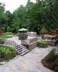 nice bluestone patio design ideas Landscaping Ideas By NJ Custom Pool & Backyard Design Expert
