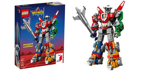 lego voltron mech biggest buildable debuts piece ever