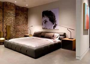 Schöne Bilder Fürs Schlafzimmer : coole schlafzimmer f r m nner ~ Whattoseeinmadrid.com Haus und Dekorationen