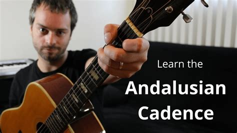 chords andalusian cadence