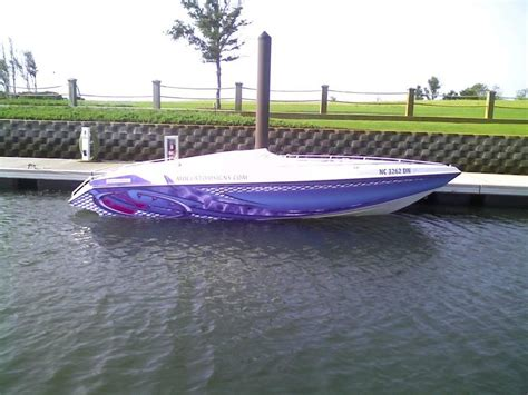 Boat Graphics Paint by Boat Wrap Gelcoat Paint Offshoreonly
