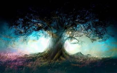 Tree Wallpapers Trees Meaning Deviantart Painting Fantasy
