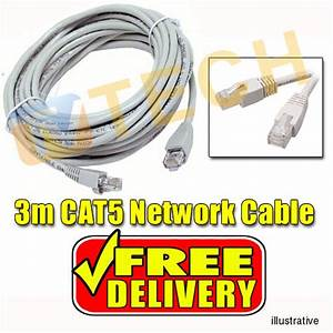 3m Cat5e Cable Network Cable Lan Cable Eia  Tia