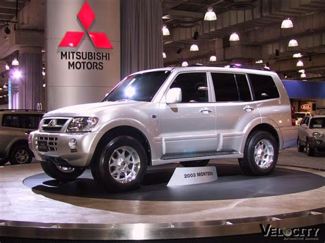 Mitsubishi Montero Cars Wallpapers