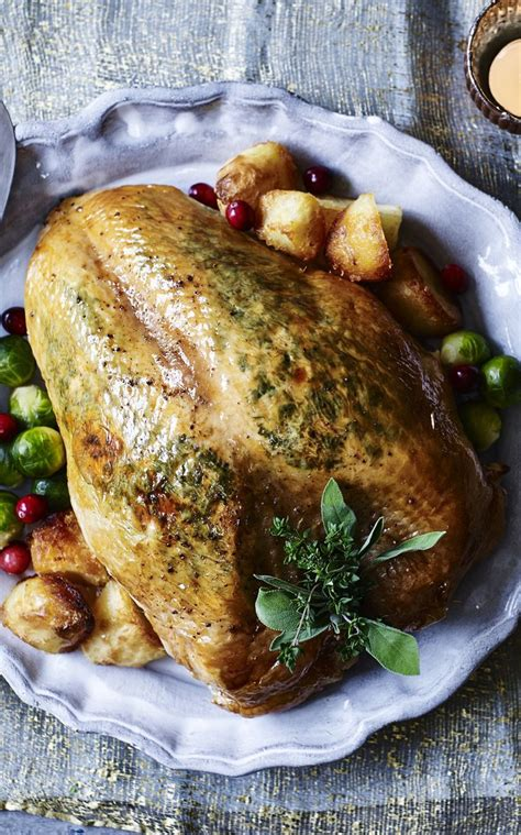 My favourite way to roast turkey is with a savoury butter under the skin to keep the breast meat moist and flavourful. The Best Gordon Ramsay Thanksgiving Turkey - Best Recipes Ever