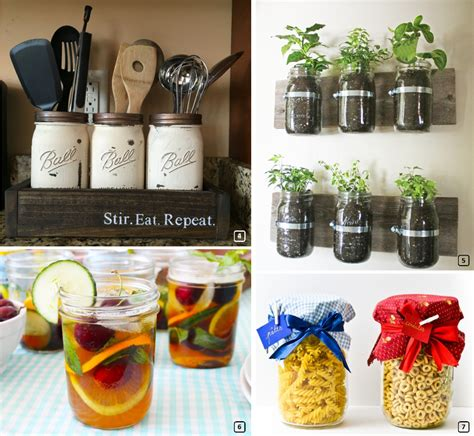 accessoires de cuisine originaux 15 diy originaux avec des bocaux en verre bnbstaging le
