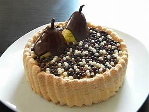 Recette Charlotte Poire Chocolat : les d lices de c c charlotte poire chocolat recette cap ~ Melissatoandfro.com Idées de Décoration