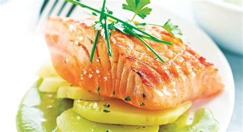 comment cuisiner la patate douce recette rapide et facile pavé de saumon grillé à l