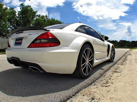 Mercedes Amg V12 Biturbo Price by Renntech Sl65 Amg Black Series Has Enough Torque To Stop