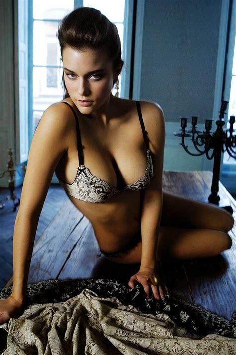 kim cloutier canadian beauty victoria secret models dress shoot challenge posing kill