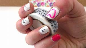 Klebetattoos Selber Machen : nail design mit washi tape selber machen diy fingern gel ~ A.2002-acura-tl-radio.info Haus und Dekorationen