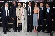 Dark Knight Rises London premiere: Anne Hathaway goes ...