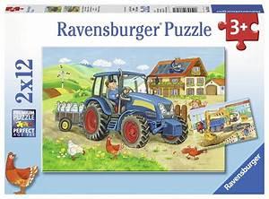 Puzzle Online Kaufen : 2 puzzles baustelle und bauernhof 12 teile ravensburger puzzle online kaufen ~ Watch28wear.com Haus und Dekorationen
