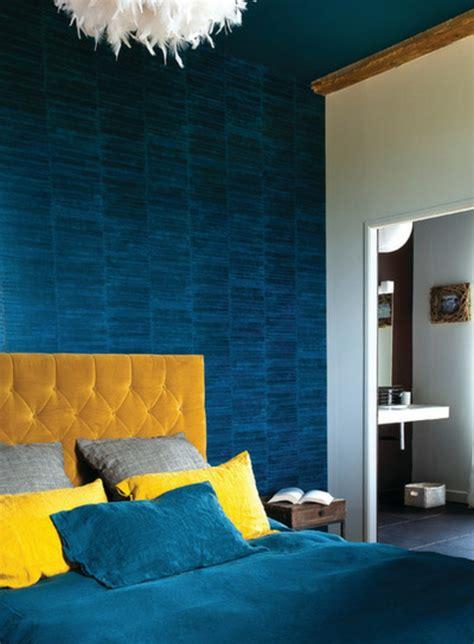 chambre jaune et bleu 1001 décors avec la couleur canard pour trouver la