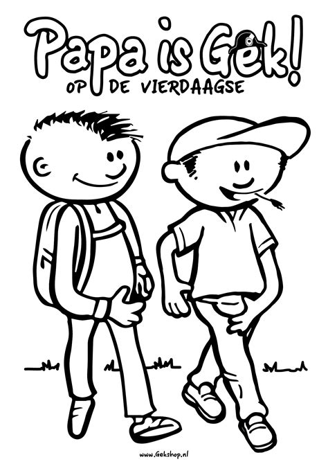 Kleurplaat Gek Wagentje by Kleurplaten Gekshop
